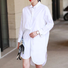 Hilary Boyfriend Shirt Dress