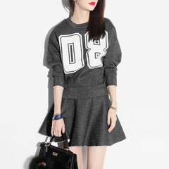 Betty Sparkly Sweater-Grey
