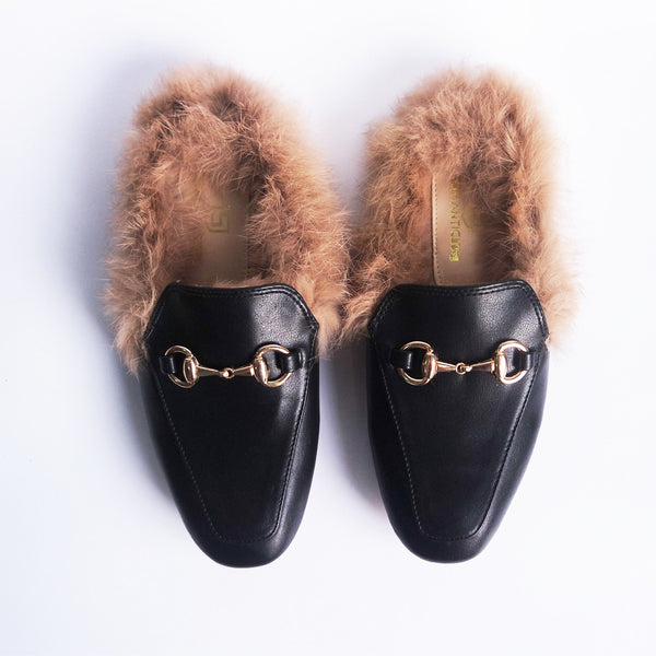 Brisa Fur Loafers