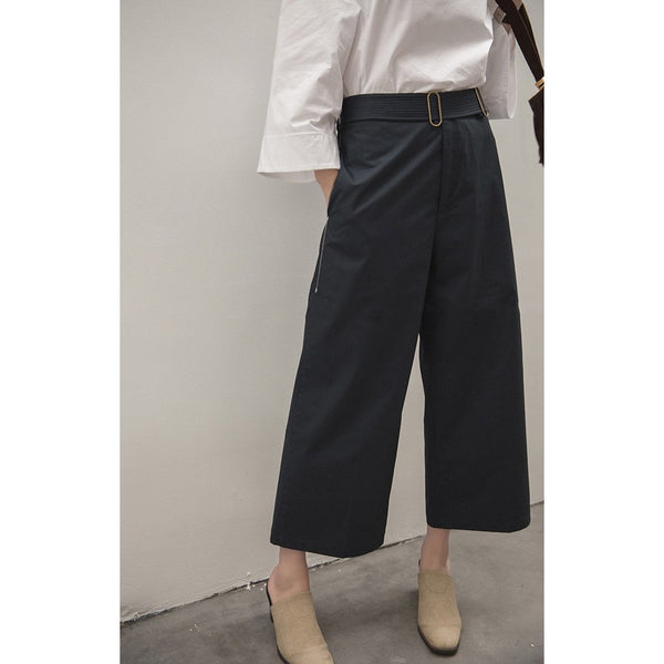 Cadence Cropped Pants - Blue