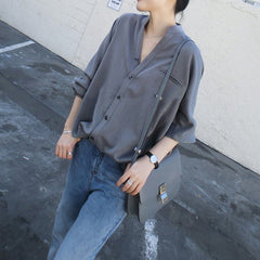 Anne Button Front Shirt