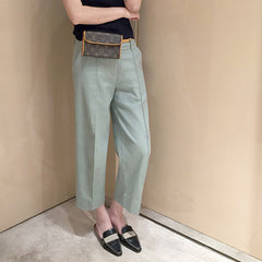 Gert Straight Pants - Light Green