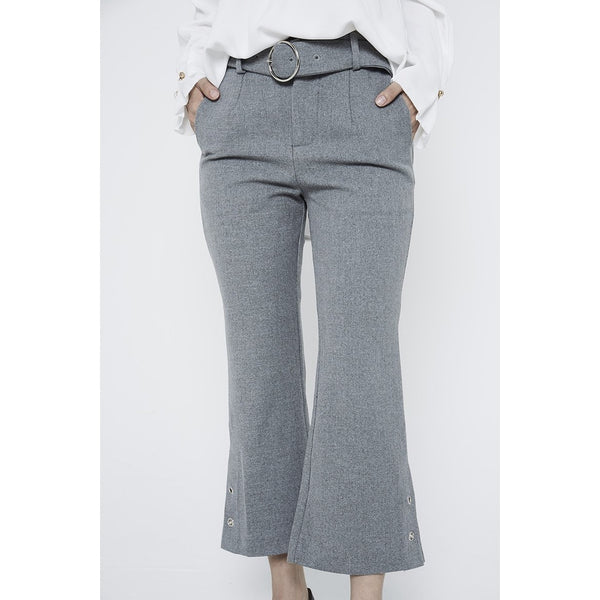 Adelle Bell Pants - Grey