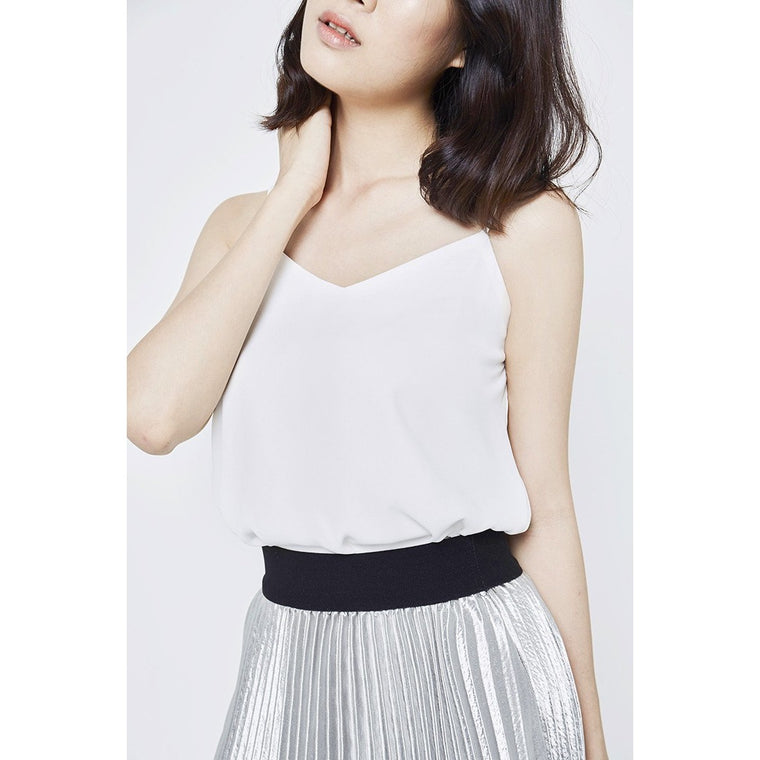 Mia Cami Top - White