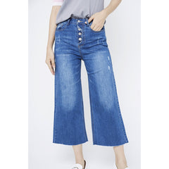 Glenys Jeans Cropped Culottes