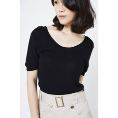 Greta Basic Knitted Top