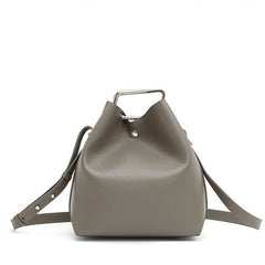Jessica Bucket Bag - Grey