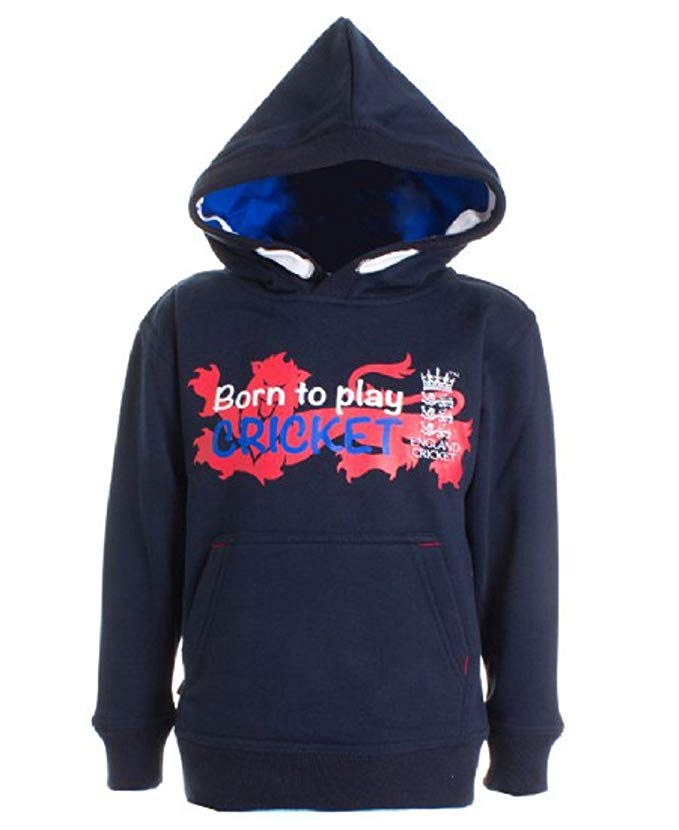 Born To Play Cricket Hoody