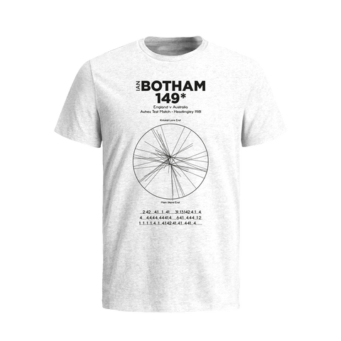 Ashes 1981 Ian Botham's 149* T-Shirt