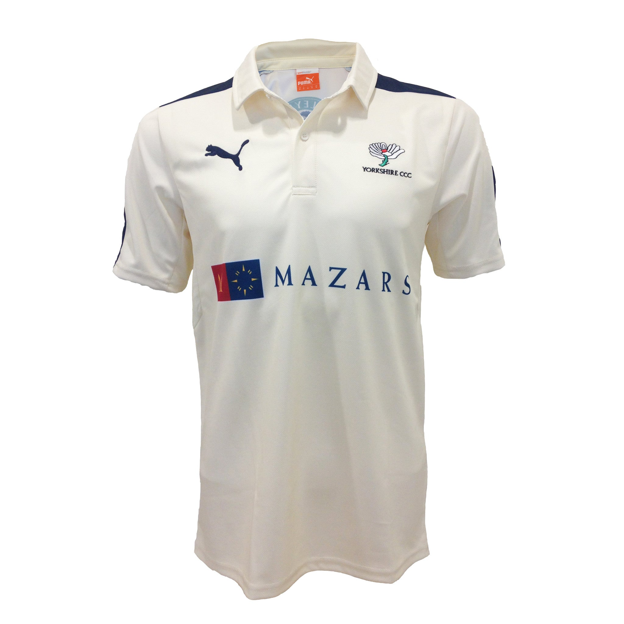 2016 Puma Yorkshire County Championship Shirt - Adults- NOW 36.00 Juniors (up to age 12) - NOW 32.00
