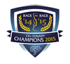 Champions 2015 Car Sticker