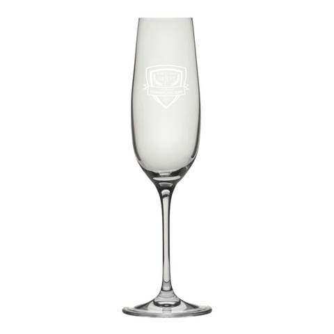 Champions 2015 Champagne Flute