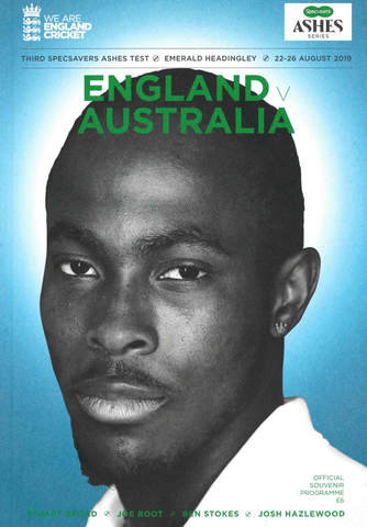 Official Souvenir Programme - England v Australia - Third Specsavers Ashes Test