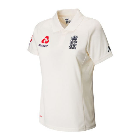 New Balance England Test Shirt - Ladies