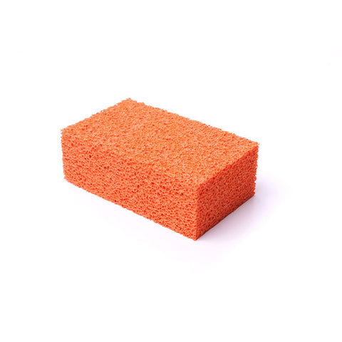 Accessories Orange Stipple Sponge