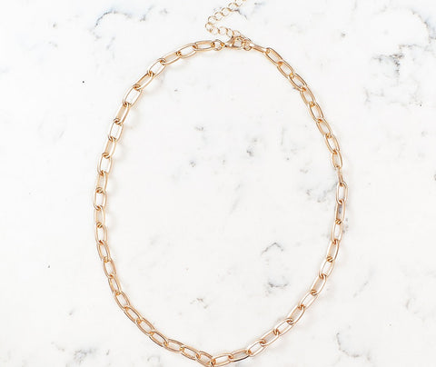 Christina Cable Chain Necklace
