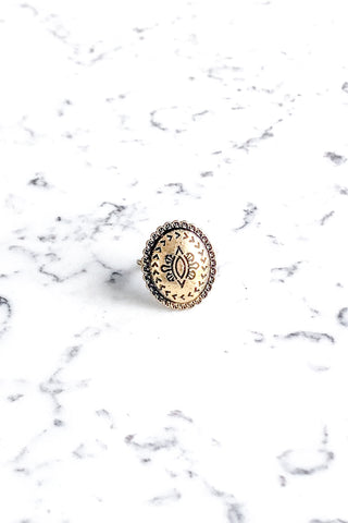 Concho Ring Gold Wholesale