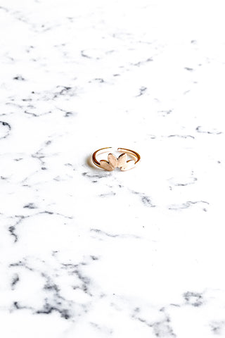 Lotus Ring Gold
