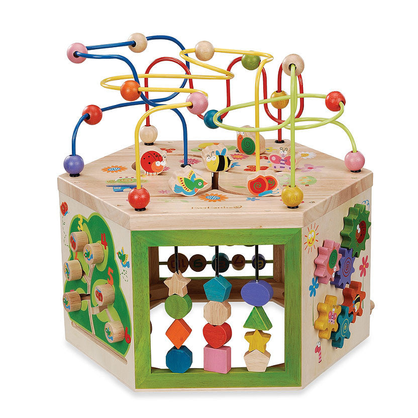 Shapes and Stars Bead Maze