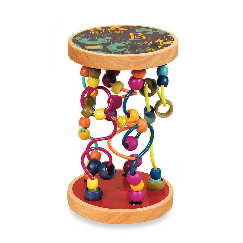 Round and Swirley Bead Maze