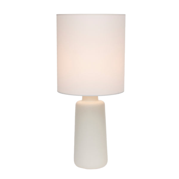 Circa Table Lamp - Bisque Ceramic