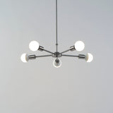 Ziggy 5-Arm Chandelier - No Shade