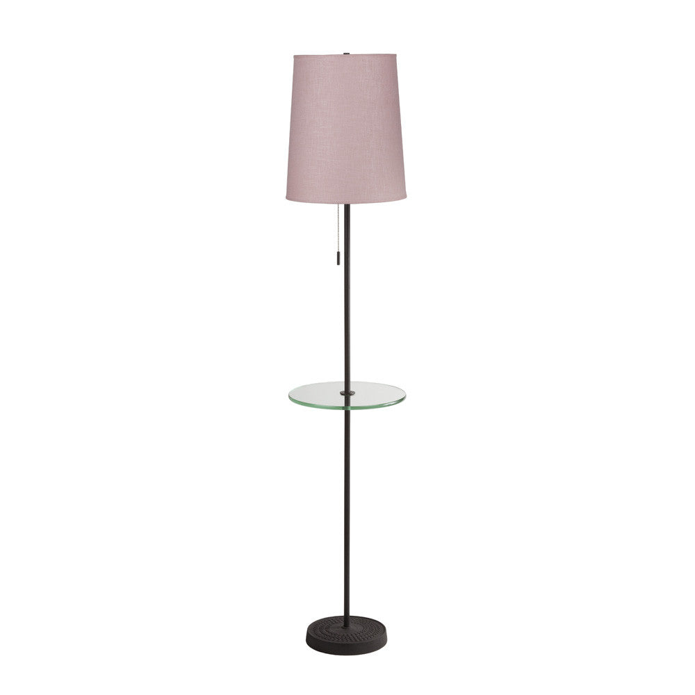Zoe Tray Table Floor Lamp Lights Up