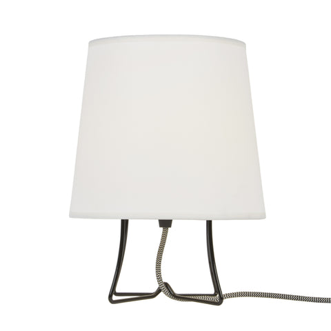 Virgil Small Slim Table Lamp - Black