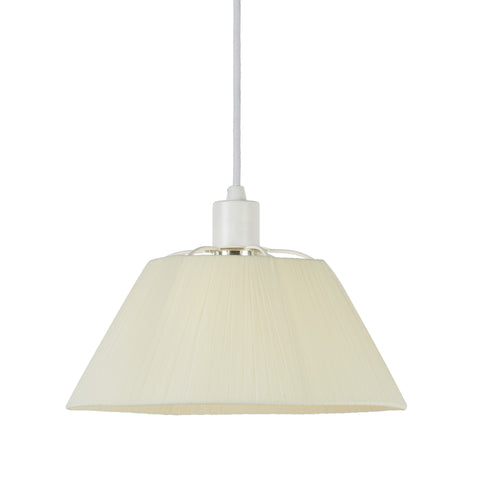 Nola Small Pendant - White