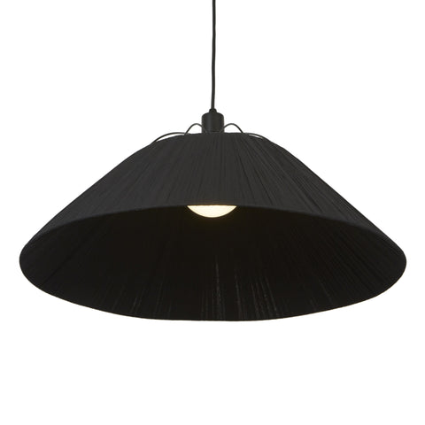 Nola Large Pendant - Black