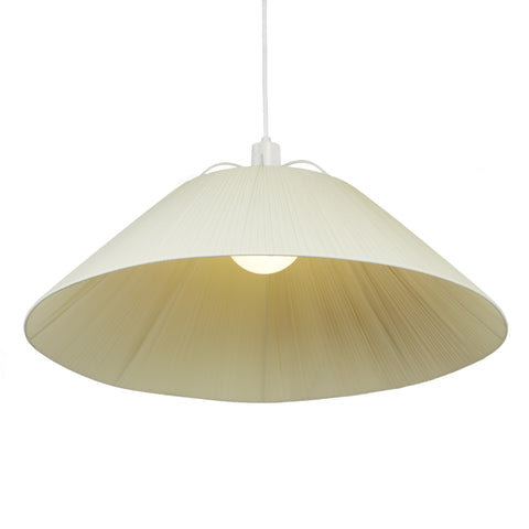 Nola Large Pendant - White