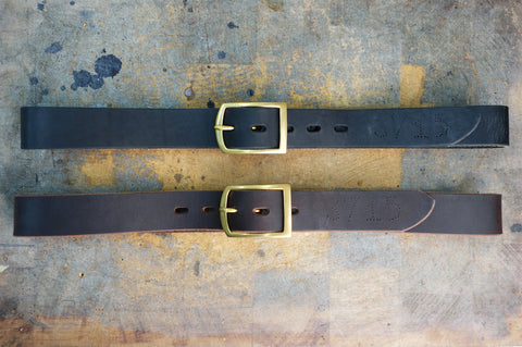 FHUTT Buckle Leather Belt 35MM