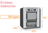 Eco 50 i  Wood Fired Indoor Oven | Eco 50 i Wood Fired Indoor Oven