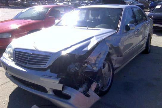 Attractive ... Mercedes Benz S55 AMG For Parts (E020) ...