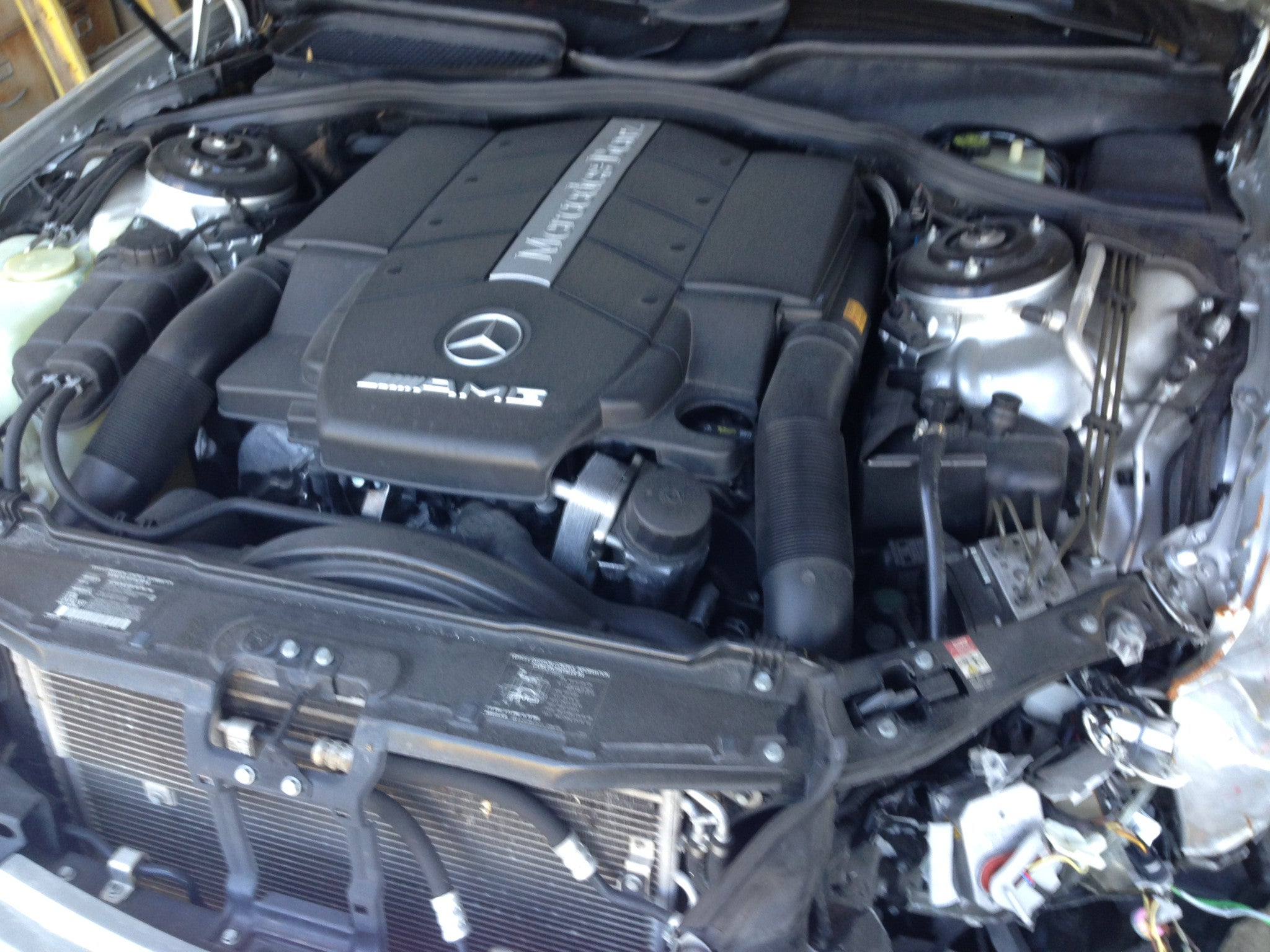 ... Mercedes Benz S55 AMG For Parts (E020) ...