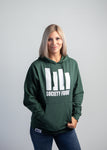 Women's Hoodie - Icon Logo - Alpine Green