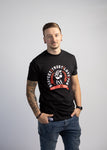 Men's Iron Fist Tee - Black & Red