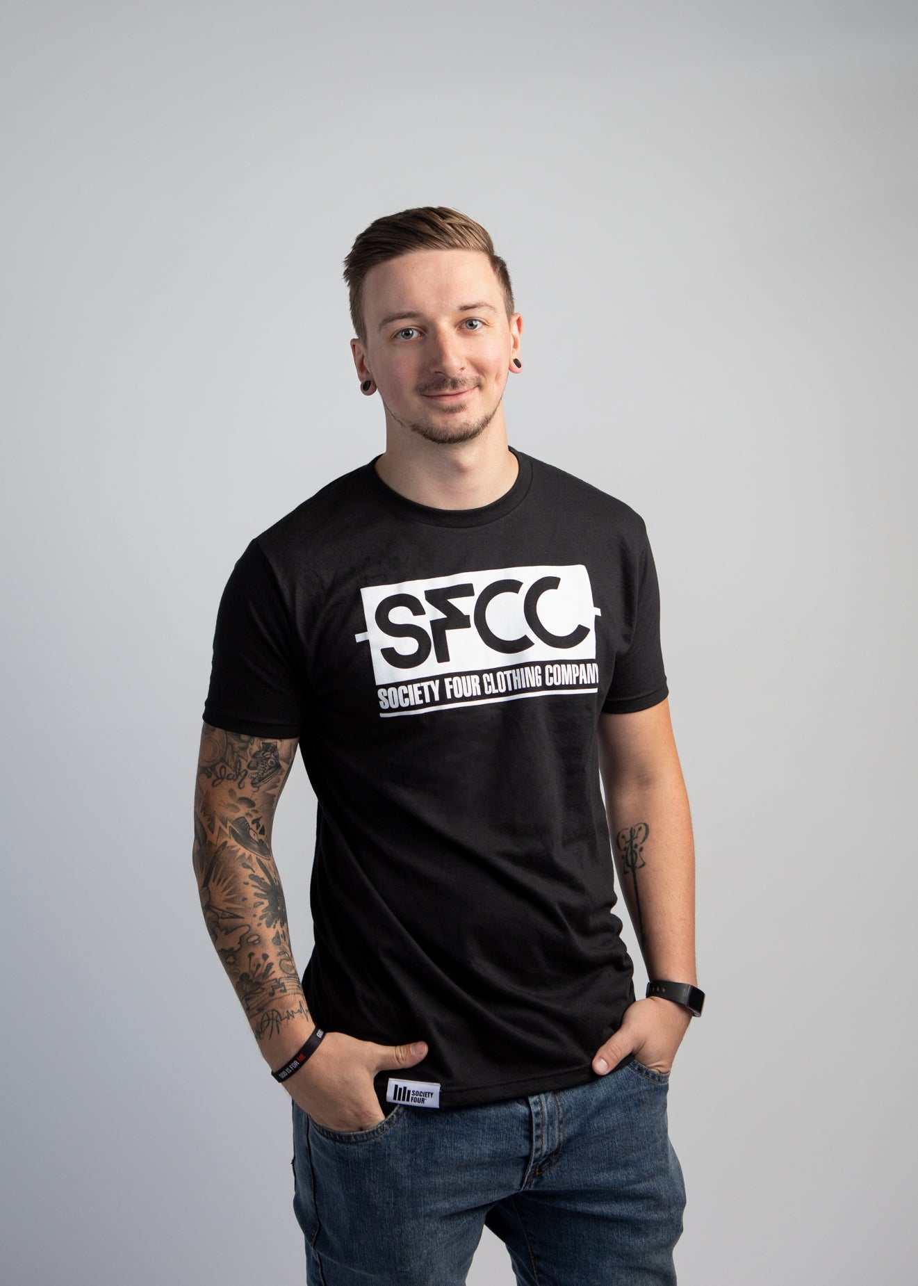 Men's Tee - SFCC Logo - Black