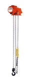 CMCO AirStar Air Chain Hoist - Lug Suspension, Pull Cord