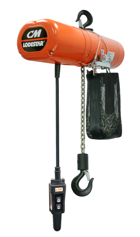 CMCO Lodestar Electric Chain Hoist | Single Speed