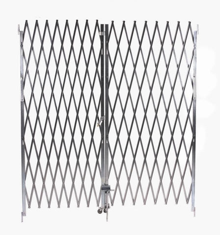 Illinois Engineered Products Heavy-Duty Pair Folding Gate, Width 6' to 12'