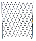 Illinois Engineered Products Heavy-Duty Single Folding Gate, Width 11' to 12'