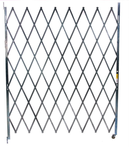 Illinois Engineered Products Heavy-Duty Single Folding Gate, Width 3' to 6'