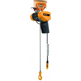Harrington SEQP Single Phase Electric Hoist | Push Trolley Suspension