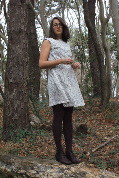 Blair Witch Project style Harwood Dress
