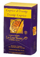 Tisane au Caprice d'Orange - Pause-Café Carrera