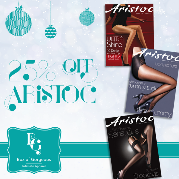 Box of Gorgeous Lingerie - Aristoc Hosiery