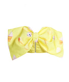 3D Ice Cream Bow Bandeau Yellow