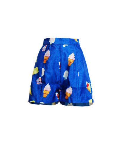 3D Ice Cream Shorts
