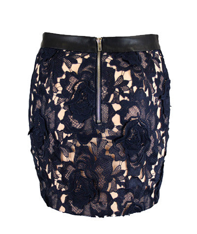 Audrey Lace Mini Skirt
